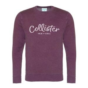 Collister Sweatshirt - Island Burgundy