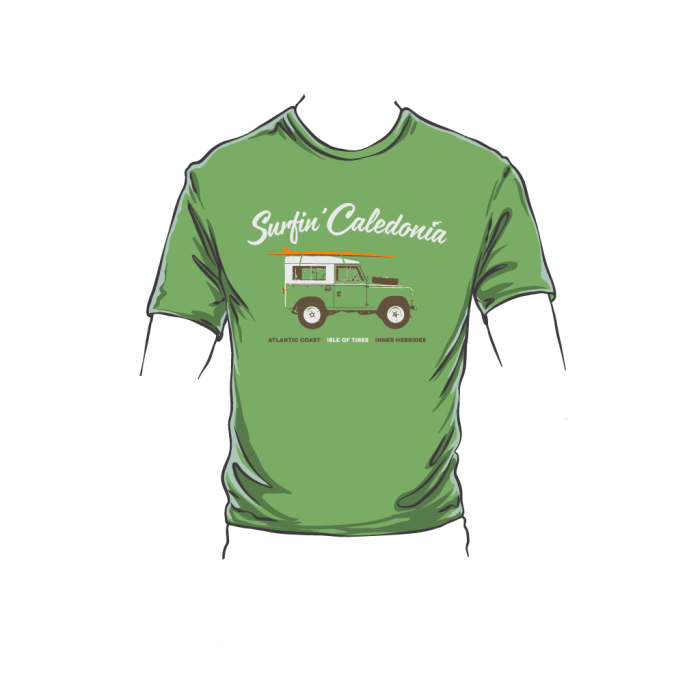 Kids Tiree Surf Tee