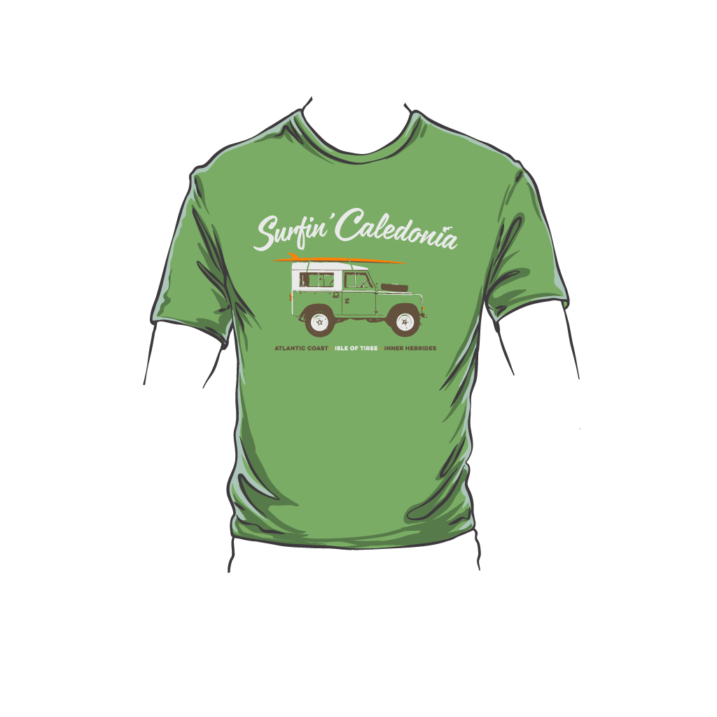 Surfin' Caledonia Tiree Kid's T-Shirt
