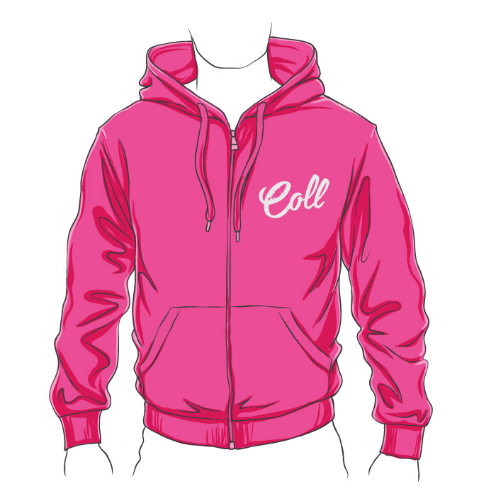 Collister Isle of Coll Zipped Hoodie