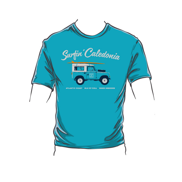 Surfin' Caledonia Coll Kid's T-Shirt