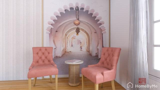 Marrakesh style relaxing corner