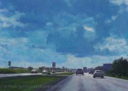 Blue Clouds 12x16