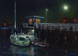Artwork Photography of Sailing Pier 12x16