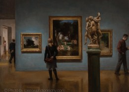 Artwork Photography of Corot 3 Graces