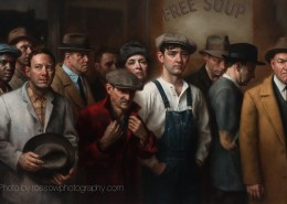 Artwork Photography of The Great Depression