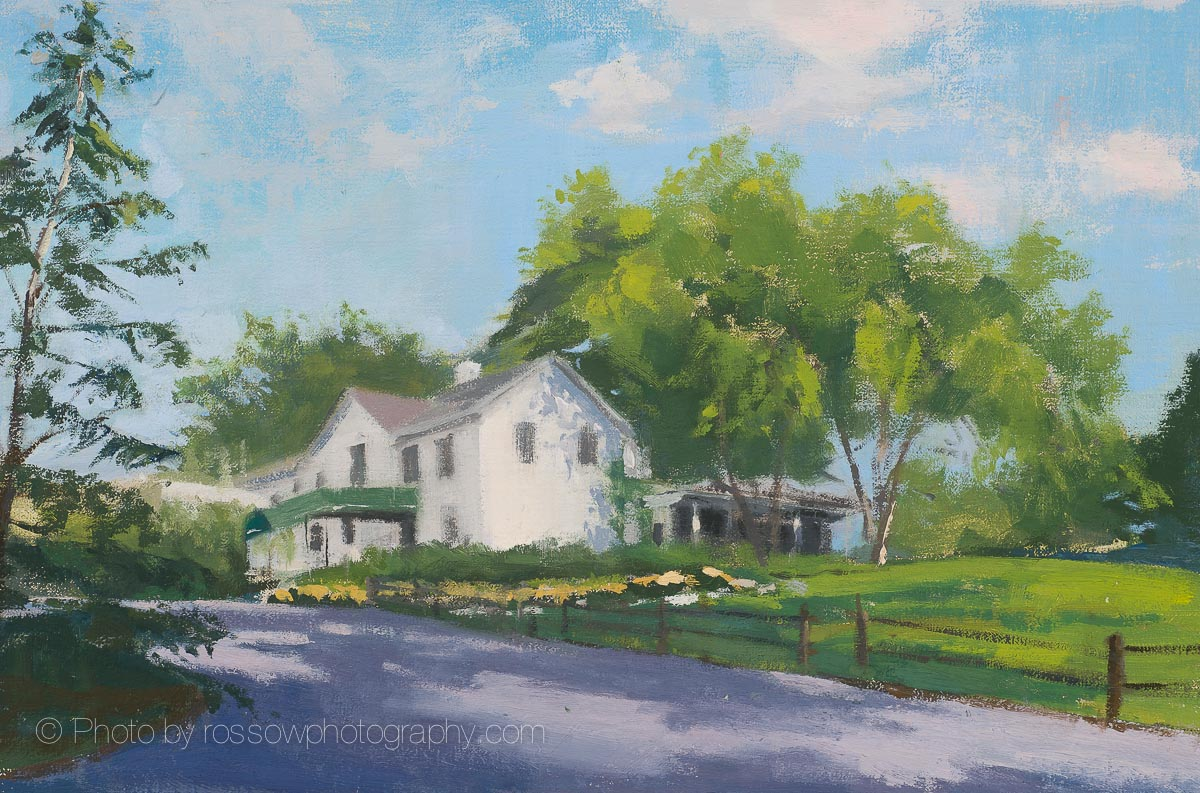 Artwork Photography of House on a Hill-Mary-McLean