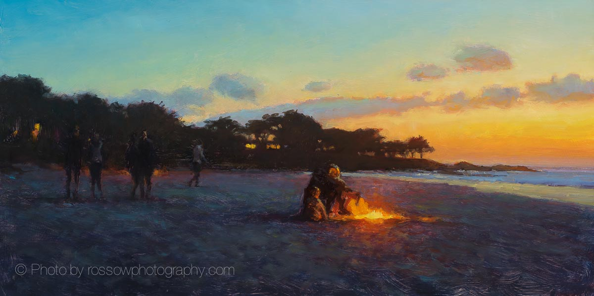 Artwork Photography of Carmel Beach Sunset