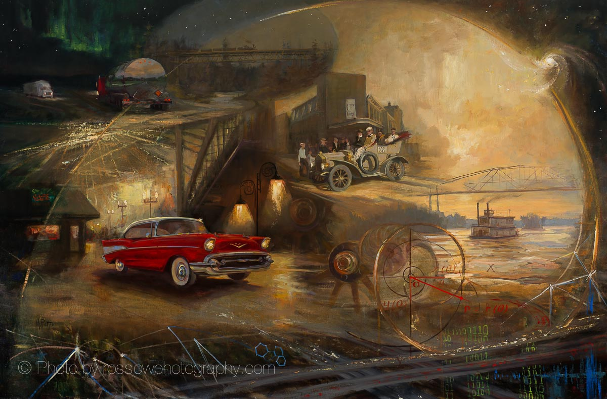 Artwork Photography of Automotive-Mural 48x72