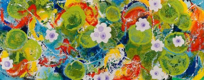 Garden Pool Series, #5 by Wil McClaren