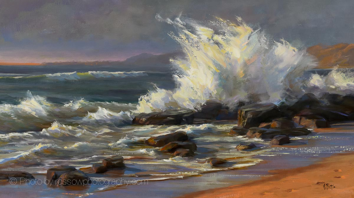 Waves Crashing-Mary Pettis