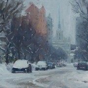 Winter Sketch on Douglas-Carl Bretzke