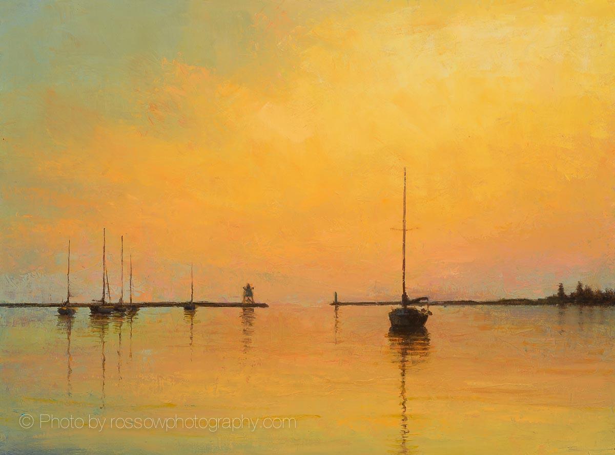 Butterscotch Sunset 12x16