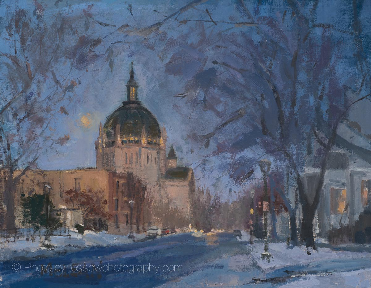 Cathedral at Twilight 11x14