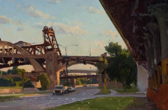 Liftbridge, Last Rays 8x12