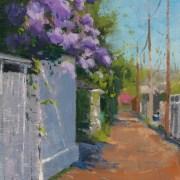 Lilac Alley 8x10