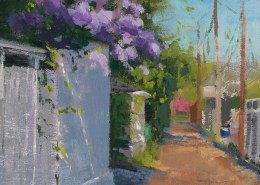 Lilac Alley 8x10