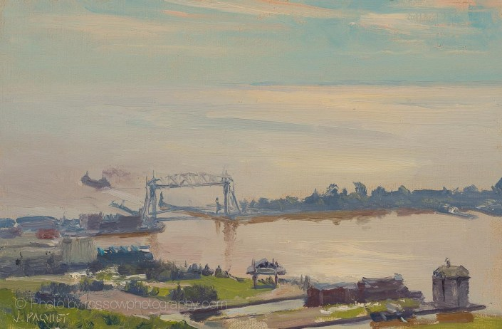 Morning Sun, Duluth 8x12