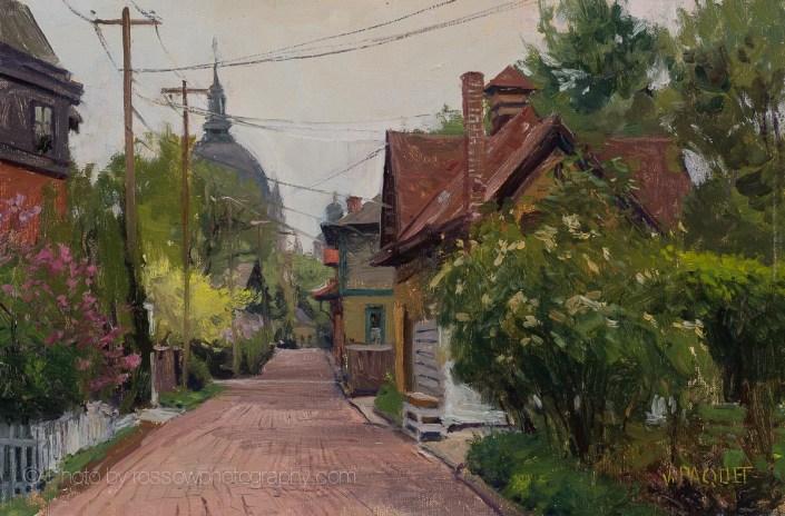 Spring, Maiden Lane 8x12