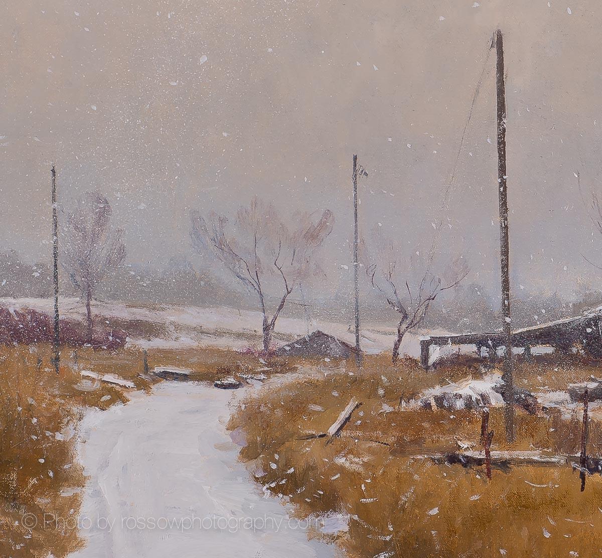 Prairie Requiem 28x40 detail 1