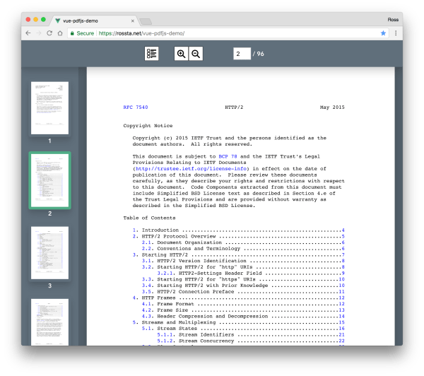 Rendering PDF pages with PDF.js and Vue - rossta.net