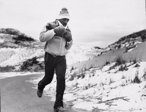 Marvin Hagler running boots