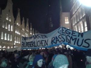 Theater Münster gegen bürgerlichen Rassismus