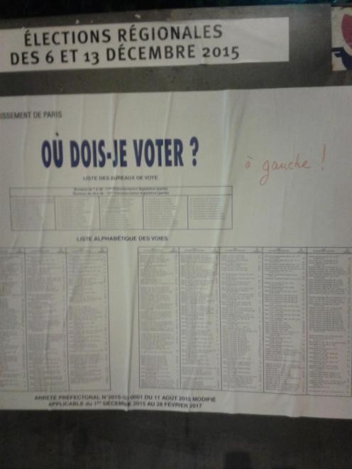 In Paris: wen wählen?
