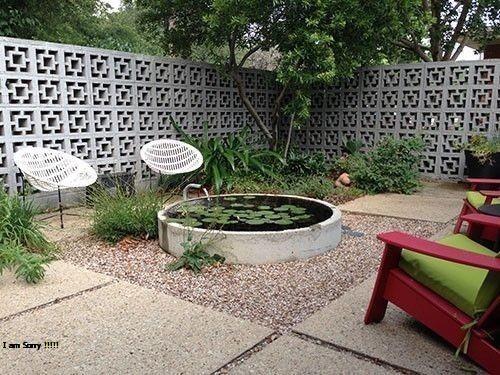 contoh pagar rumah minimalis terbaru ukuran roster beton