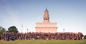 Roswell Stake Youth at Nauvoo, 2016