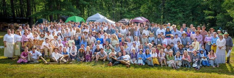 Roswell Stake Trek participants 2017