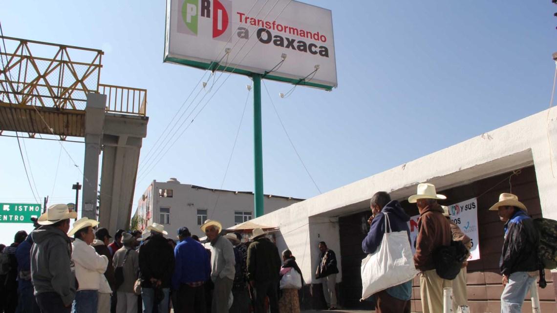 CRÓNICA POLÍTICA: PRI-Oaxaca, ya no se gana con política a la antigüita