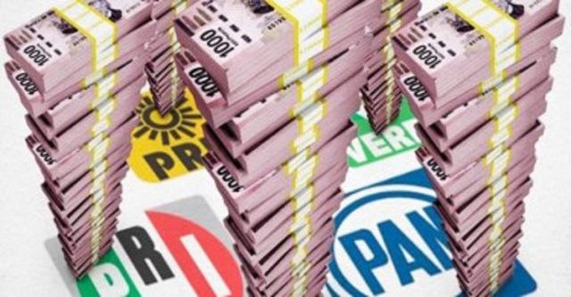 Financiamiento para partidos políticos en 2019, de 4 mil 965 millones de pesos