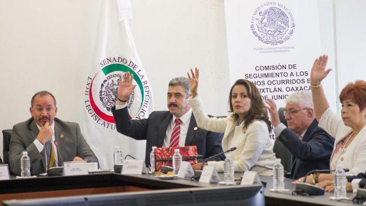 Congreso de la Unión instaló Comisión de Seguimiento a los hechos ocurridos en Nochixtlán