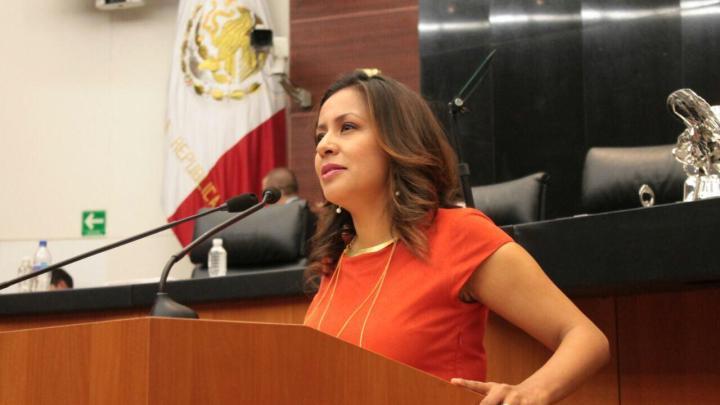 La diputada Mariana Benítez hace un llamado a respetar los derechos de las y los oaxaqueños.