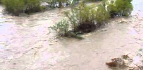 Se activa protocolo de búsqueda por persona desaparecida en la Sierra Sur; habría sido arrastrada por corriente de río
