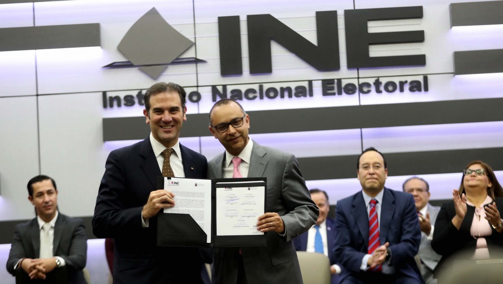 Anuncia Sergio Gutiérrez nuevos encuentros sobre reforma electoral con OPLEs y tribunales