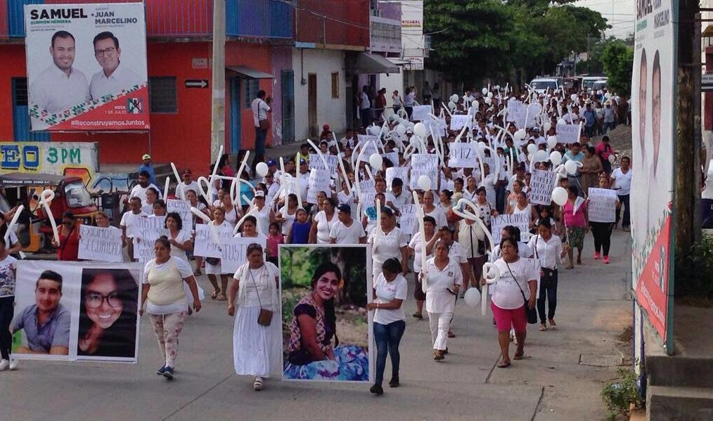 Demandan destitución de Fiscal Electoral de Oaxaca por omisa, por caso María del Sol
