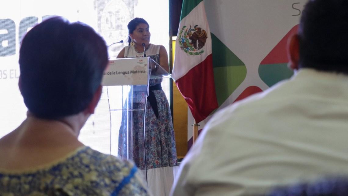 Anuncia SAI programas para el rescate de lenguas maternas