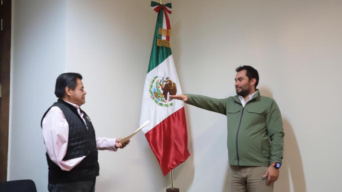 Adolfo Maldonado Fuentes, nuevo director del IOCIFED