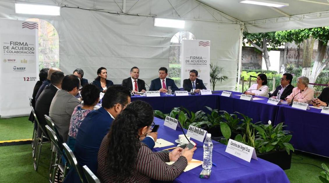 Firman acuerdo de colaboración con Unidad de Inteligencia Financiera de la SHCP para prevenir recursos de procedencia ilícita en procesos electorales locales