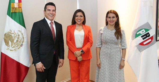 Tal como se preveía, Lorena Piñón está en el CEN de «Alito»; es su premio. Y ya hay otros nombramientos