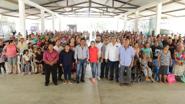 Caravana DIF un aliado para las familias de la Cuenca del Papaloapan