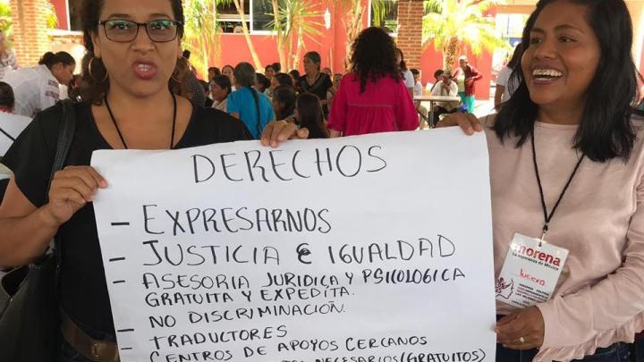 Morena imparte taller para contrarrestar violencia política por razones de género
