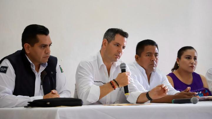 Gobernador reafirma compromiso con la seguridad de Tuxtepec