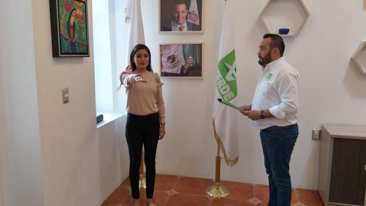 Asume Khatia Cabrera Ortega, secretaria de Asuntos de la Juventud del PVEM