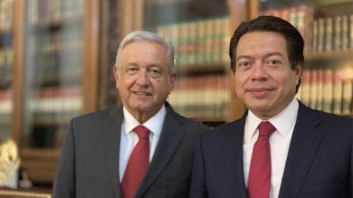"""Pide Mario Delgado a Morena escuchar sugerencias de AMLO para renovar su dirigencia, de lo contrario sería """"el principio del fin"""" de este partido"""