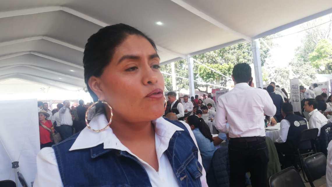 Eufrosina Cruz revira a dirigente del PAN; rechaza utilizar padrón de beneficiarios