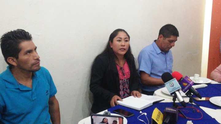 Alcaldesa de Santiago Xanica pide garantías de seguridad para gobernar municipio