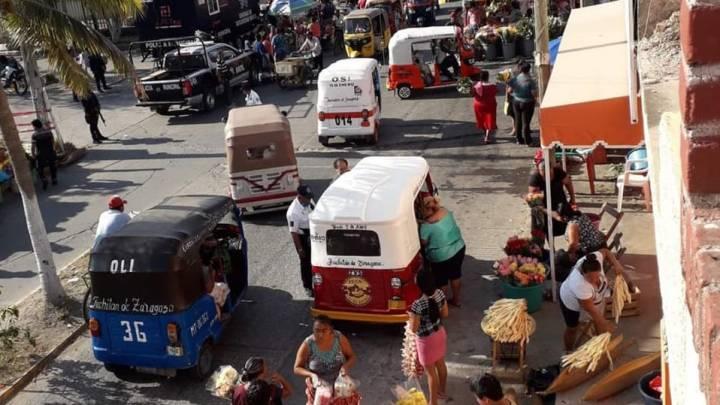 Habitantes de Juchitán desoyen recomendaciones y salen a celebrar el tradicional Domingo de Ramos